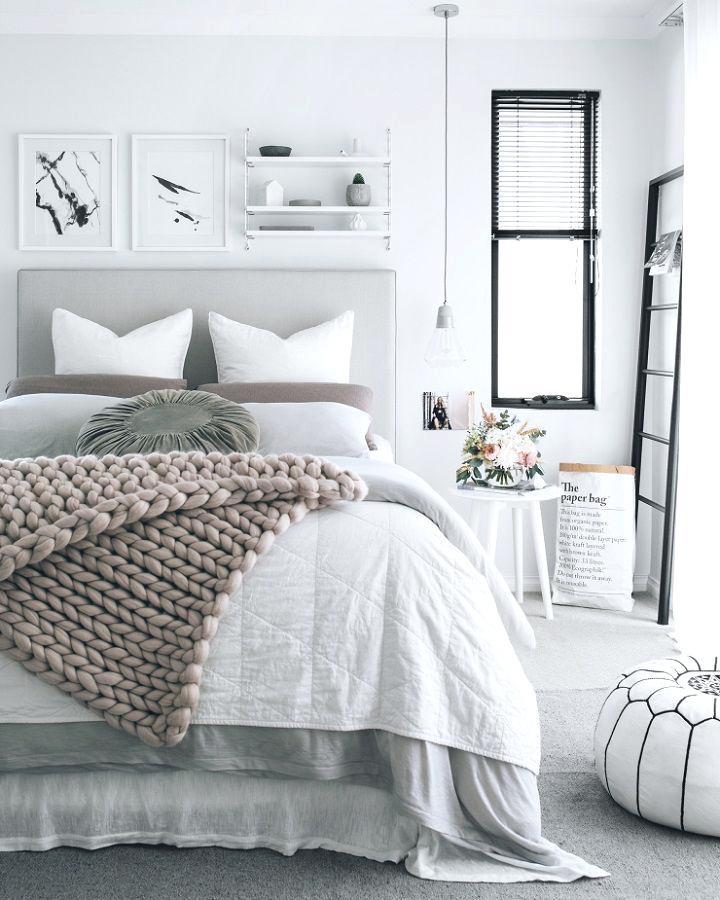 october mood board comfy bed